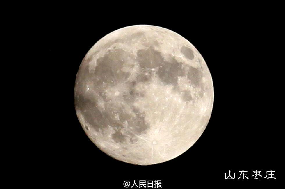 来最大最圆月亮