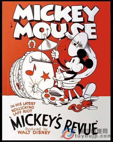 米老鼠从黑白走向了彩色的人生:《米奇音乐会